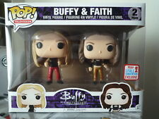Funko Pop! Buffy The Vampire Slayer Buffy & Faith 2017 Fall Convention Exclusive