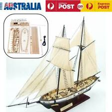 Harvey Ship Assembly Model DIY Kits Wooden Sailing Boat Decor Toy Gift AU
