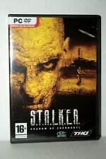 S.T.A.L.K.E.R. SHADOW OF CHERNOBIL USATO PC DVD VERSIONE ITALIANA VBC 41000
