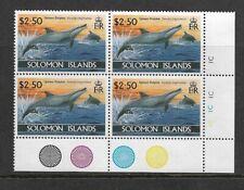 1994 SOLOMON ISLANDS - DOLPHINS - CORNER BLOCK WITH TRAFFIC LIGHTS - MNH.