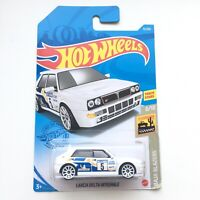 Hot Wheels LANCIA DELTA INTEGRALE White Color Mattel Car Toy Brand NEW