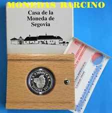 2001 500 PESETAS REALES ESPAÑA CASA LA MONEDA SEGOVIA RUEDA HIDRÁULICA PLATA