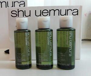 Shu Uemura Anti Oxi Skin Purifier Refining Anti-Dullness Cleansing Oil 50ml x 3