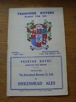 24/02/1967 Tranmere Rovers v Port Vale   (Item has no apparent faults).