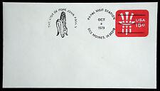 U581 - PAPAL VISIT STATION, POPE JOHN PAUL II  UNADDRESSED COVER 1979  (ESP#758)