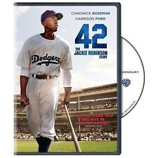42 The Jackie Robinson Story DVD and Ultraviolet Harrison Ford Chadwick Boseman