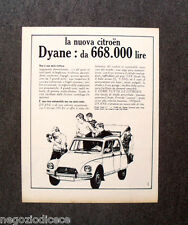 N637 - Advertising Pubblicità - 1968 - NUOVA CITROEN DYANE