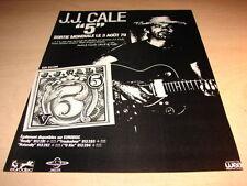 """J.J. CALE - """"5""""!!!!!!!!!!!!!!!!!!!!!FRENCH PRESS ADVERT"""