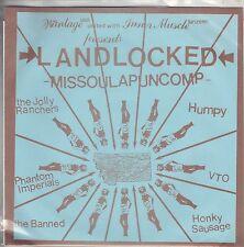 V/A - Landlocked Missoula Punk Comp With Zine - 7 Inch Vinyl Record NEW