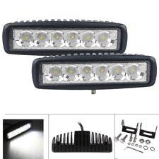 "18W 7"" Cree LED Work Light Bar Spot Beam Offroad 4WD UTE SUV Fog Driving Lamp"