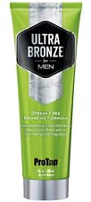 Pro Tan For Men ULTRA BRONZE Streak Free Bronzing + Fast Absorbing & Hydrating