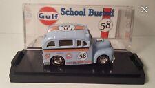 Hot Wheels Custom school busted Gulf  design