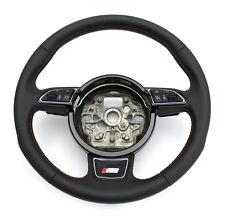 Audi s8 multifunción volante volante de cuero marrón dsg 4h0419091j