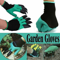 Garden Gloves Gardening Gloves With Claws for Digging & Planting (1 Pair,2Pcs)