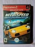 Need for Speed: Hot Pursuit 2 Greatest Hits (Sony PS 2, 2002, EA Games) Complete