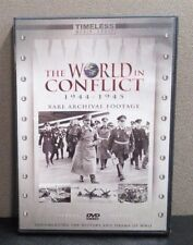 The World In Conflict 1944-1945   Rare Archival Footage   (DVD)   LIKE NEW