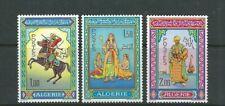 ALGERIA 1966 MINIATURES of MOHAMMED RACIM ART (Sc 362-64) VF MNH