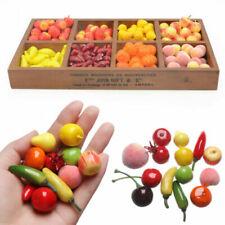 Frutas artificiales decorativas cerezas para el hogar