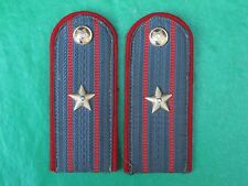 Original Soviet USSR POLICE OFFICER MAJOR RANK Everyday Uniform Epaulets.