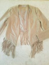 WYATT COLLECTION FRINGE JACKET SZ S