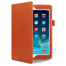 Magnetic PU Leather Smart Cover Case for Apple iPad Air iPad 5 Orange
