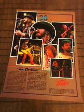 1984 VINTAGE 8X11 PRINT AD FOR PEAVEY GUITAR AMPS/RIGS 38 SPECIAL TOUR DE FORCE