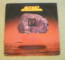 ALCATRAZZ ~ NO PAROLE FROM ROCK N ROLL ~ ORIG ISSUE ~ YNGWIE MALMSTEEN, RAINBOW