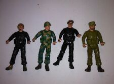 lot of 4 Sgt. Rock Action Figures Remco 1981