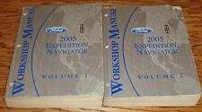 2005 Ford Truck Expedition & Navigator Shop Service Manual Vol 1 & 2 Set 05