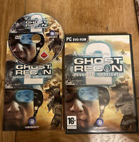 GHOST RECON - ADVANCED WARFIGHTER 2 Pc DVD Rom Tom Clancy's WAR FIGHTER