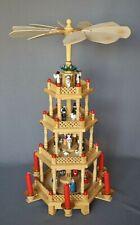 Weihnachtspyramide 4-stöckig 54 cm Weihnachtsdekoration