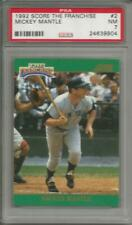 MICKEY MANTLE 1992 SCORE THE FRANCHISE PSA GRADED CARD YANKEES