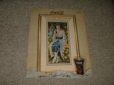 1997 Pegasus Coca-Cola Girls Series #3 Cross-Stitch Leaflet #382