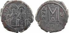 Justin II et Sophie (565-578), Follis An VI ,Constantinople-63