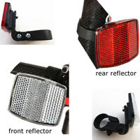 Bicycle Front Rear Reflector Bike Reflective Len Cycling Safety Accessories