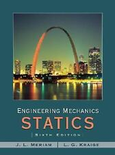 Engineering Mechanics - Statics, Kraige, L. G., Meriam, J. L., Acceptable Book