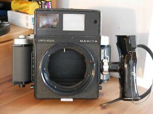 Mamiya Universal Camera, 6x9 film back, grip, no lens