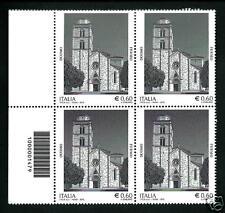 Italia Repubblica 2012 : Duomo di Fermo  - quartina con codice a barre