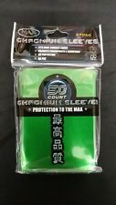 4x Max Protection Green Chromium Sleeves 50ct (200 Sleeves) Standard Size