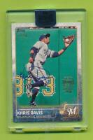 2018 Topps Archives Signature Series Auto - Khris Davis  Brewers Athletics 73/90