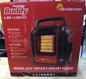 Mr. Heater F232000 MH9BX Buddy 4,000-9,000-BTU Indoor-Safe Portable Propane -NEW