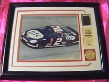 Rusty Wallace Race-Used Tire Mini Panoramic Collectible Framed Photo