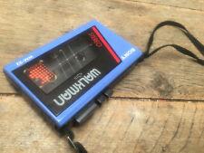 Original Sony Walkman WM 22 Portable Stereo Cassette Player Blue WM-22 Working