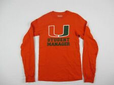Miami Hurricanes adidas Long Sleeve Shirt Men's New Multiple Sizes