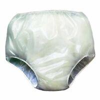 WATERPROOF PANTS - Soft Vinyl Waterproof Reusable Pants - Incontinence aids