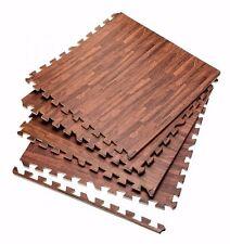 Effetto legno ad incastro EVA Foam Esercizio Tappetini esercizi palestra GARAGE CASA in legno