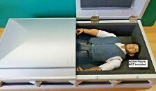 RC 1/10 Scale Coffin Casket Funeral Box Rock Crawler Doll House Mini Accessories