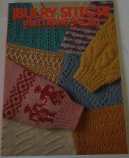 Bulky Stitch Patterns Book for Chunky Knitting Machine  B459 157 Colour Patterns