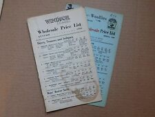 2 Vintage 1960 catalogues Windsor Woollies 1960s childrens fashion clothing u