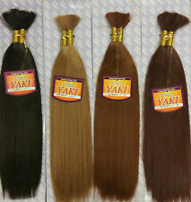 Human Quality Hair for Braiding NEW YAKI BULK (straight hair)